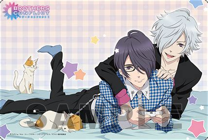 BROTHERS CONFLICT 大判マウスパッドPart